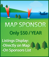 Lake Ontario Map Sponsorship